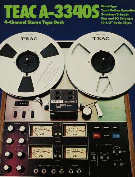Teac A-3340 S Prospekt / Katalog