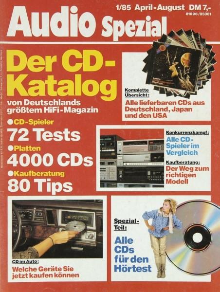 Audio Spezial 1/1985 Zeitschrift