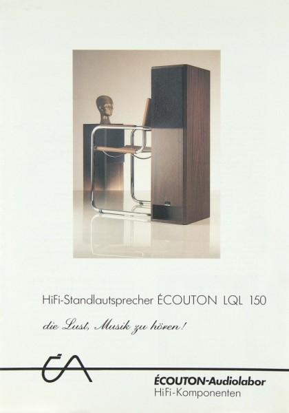 Écouton LQL 150 Prospekt / Katalog