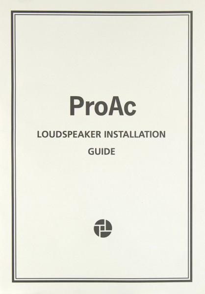 ProAc Tablette / Studio / Response Bedienungsanleitung