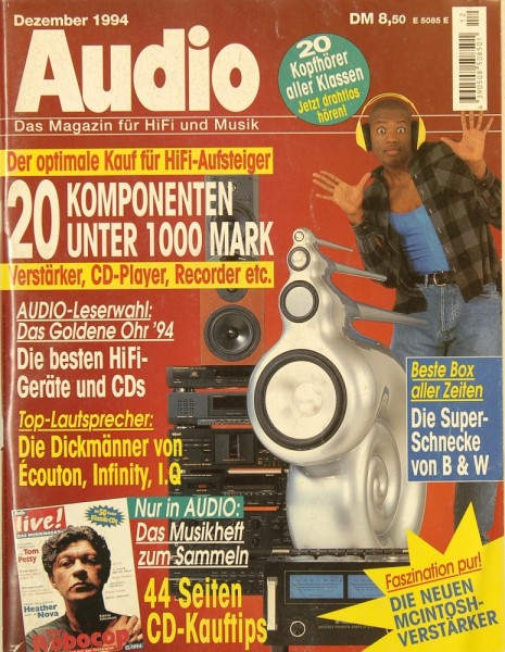 Audio 12/1994 Zeitschrift