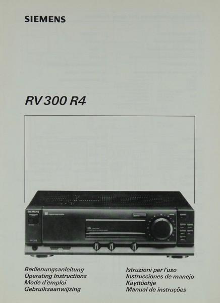 Siemens RV 300 R4 Bedienungsanleitung