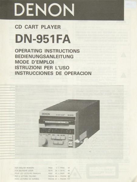 Denon DN-951 FA Bedienungsanleitung