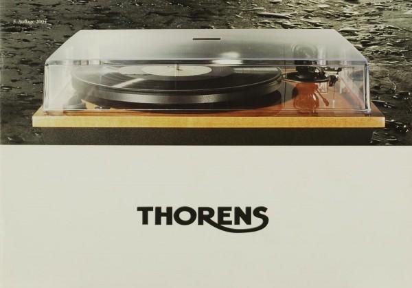 Thorens TD 170-1 / TD 190-1 / TD 295 MK III Prospekt / Katalog