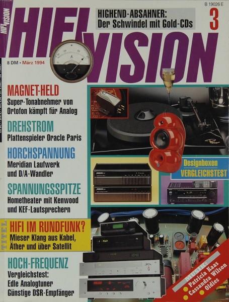 Hifi Vision 3/1994 Zeitschrift