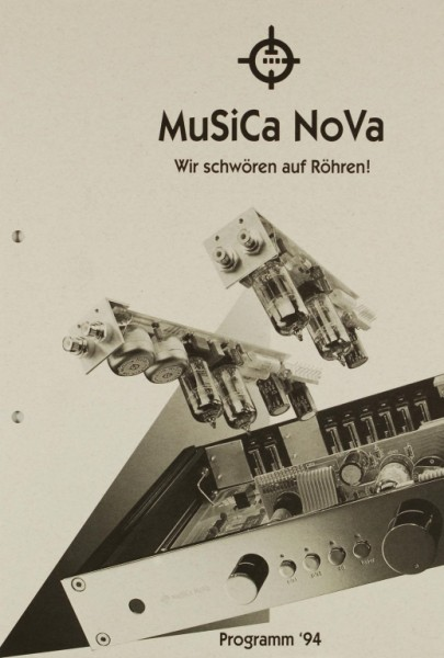 Musica Nova Programm ´94 Prospekt / Katalog