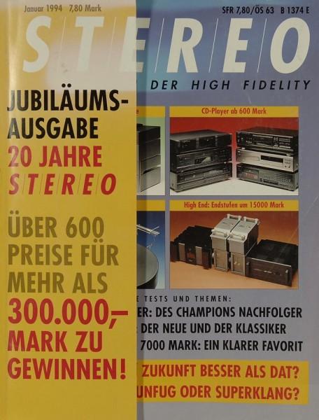 Stereo 1/1994 Zeitschrift