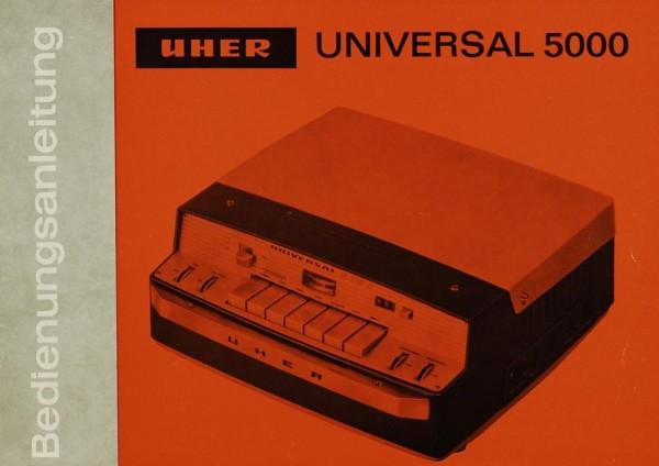Uher Universal 5000 Bedienungsanleitung