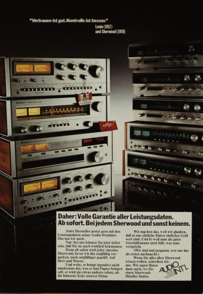 Sherwood HP Serie Prospekt / Katalog