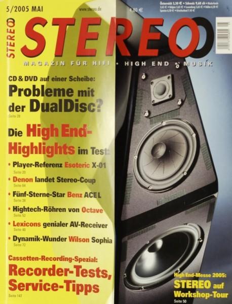 Stereo 5/2005 Zeitschrift
