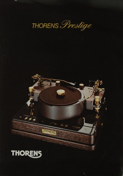 Thorens Prestige Prospekt / Katalog