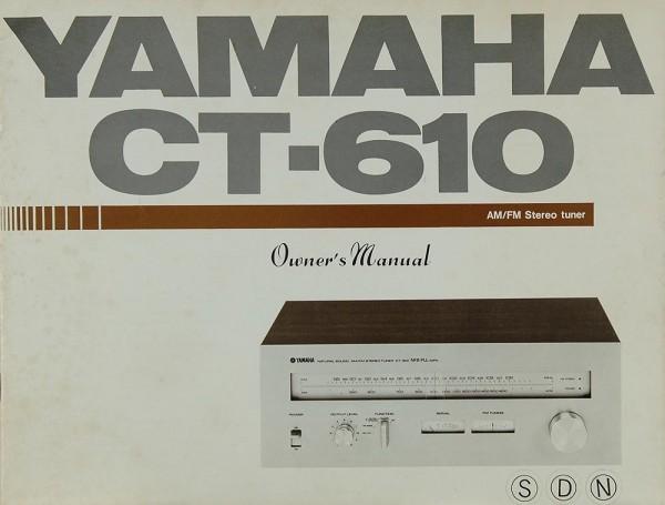 Yamaha CT-610 Bedienungsanleitung