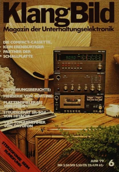 KlangBild 6/1979 Zeitschrift