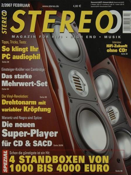 Stereo 2/2007 Zeitschrift