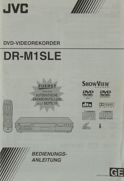 JVC DR-M 1 SLE Bedienungsanleitung