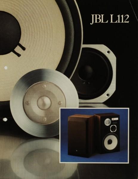 JBL L112 Prospekt / Katalog