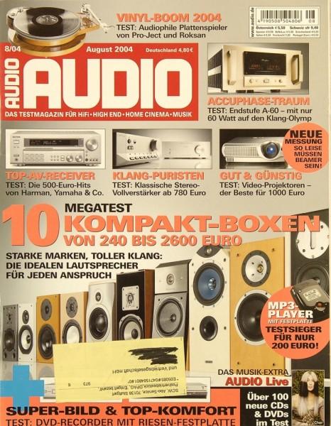 Audio 8/2004 Zeitschrift