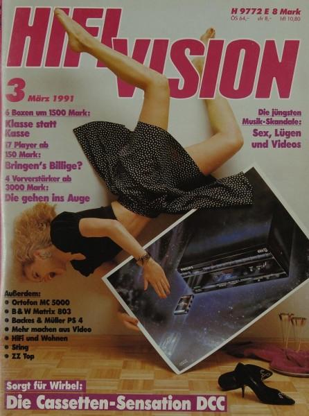 Hifi Vision 3/1991 Zeitschrift