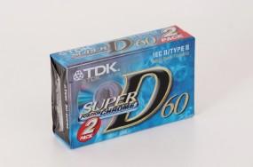 TDK Super D-60 2 er Pack