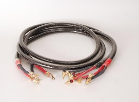 Straight Wire Black Silc Bi-Wire 2.55