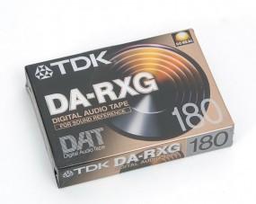 TDK DA-RXG 180 DAT Kassette