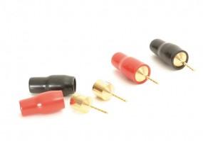 Lautsprecheranschluß Pins 10 mm 4 er Set