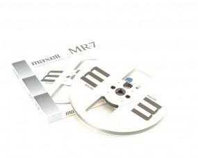 Maxell MR-7 18 er Leerspule Metall