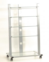 Rack Metall Glas