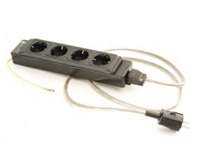 Audiophile Netzleiste 4-fach