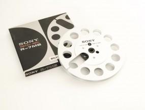Sony R-7 MB silbern Leerspule