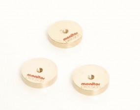 Monitor Precision Untersetzer Spiketeller 3er Set
