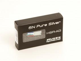 Oyaide HSR-AG 5n Pure Silver Headshellkabel 4er Set