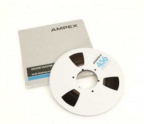 Ampex 456 Tonband 27 er Metall NAB silbern