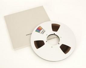 Ampex 407 Tonband 27 er Metall NAB silbern