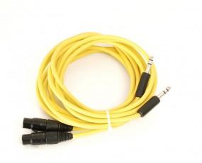 Kabel XLR-Buchsen auf 6.35mm Klinkenstecker 2.80 m