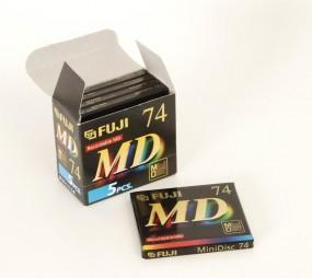 Fuji MD S 74 E 5er Set Minidisc NEU!