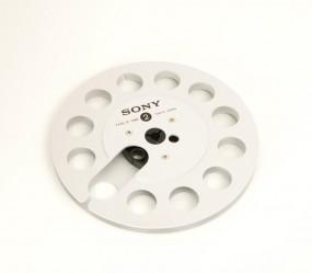 Sony R-7 MB Leerspule silbern