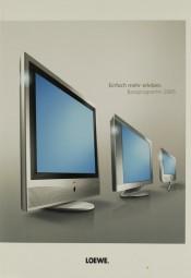 Loewe Basisprogramm 2005 - Einfach mehr erleben Prospekt / Katalog