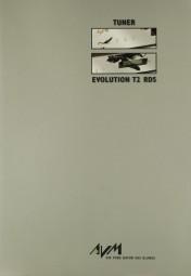 AVM Evolution T2 RDS Prospekt / Katalog