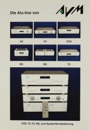 AVM Die Alu-line von AVM Prospekt / Katalog