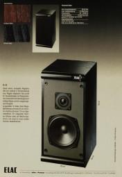 Elac EL 60 / EL 160 Prospekt / Katalog