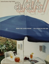 a/d/s From the living-room… to a place in the sun Prospekt / Katalog