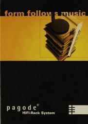 Finite Elemente Pagode Prospekt / Katalog
