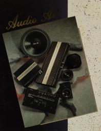 Audio Art Amplifiers - Speakers - Crossovers Prospekt / Katalog