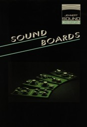 Jehnert Sound Design Sound Boards Prospekt / Katalog