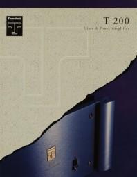 Threshold T 200 Prospekt / Katalog