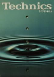 Technics HiFi 94/95 Prospekt / Katalog
