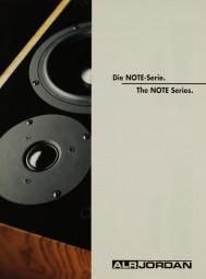 ALR Jordan Die Note-Serie / The Note Series Prospekt / Katalog