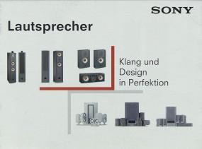 Sony SS-X9 ED, SS-X7, SS-SR X7, SS-CN X/, SA-VE 505,... Prospekt / Katalog