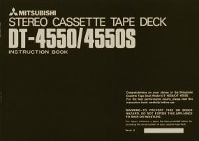 Mitsubishi DT-4550 / 4550 S Bedienungsanleitung